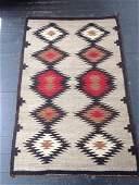 Vintage Navajo Rug 3x2