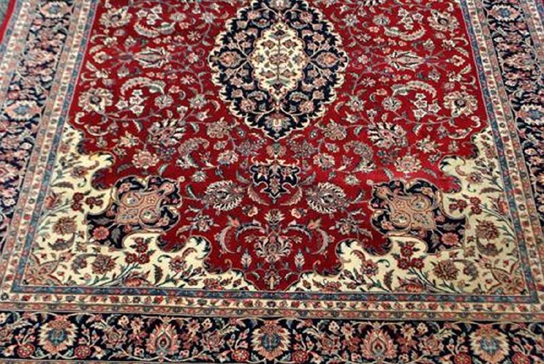 Fascinating Fine Quality Tabriz Design Rug 7.9x9.10 - 5