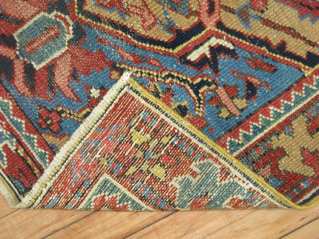 Persian Heriz Scatter Rug French Blue Accents 2.11x4.3 - 2