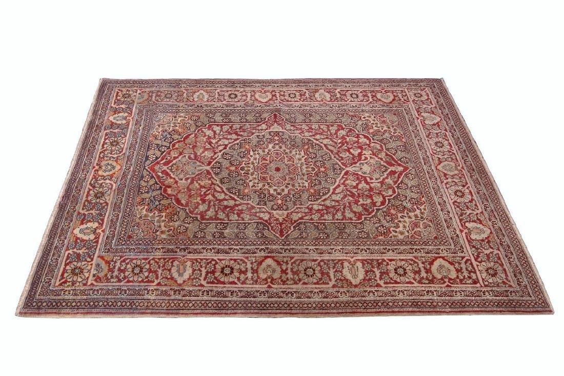 Antique Persian Tabriz Rug Haji Jalili Kalili 4x 5.7