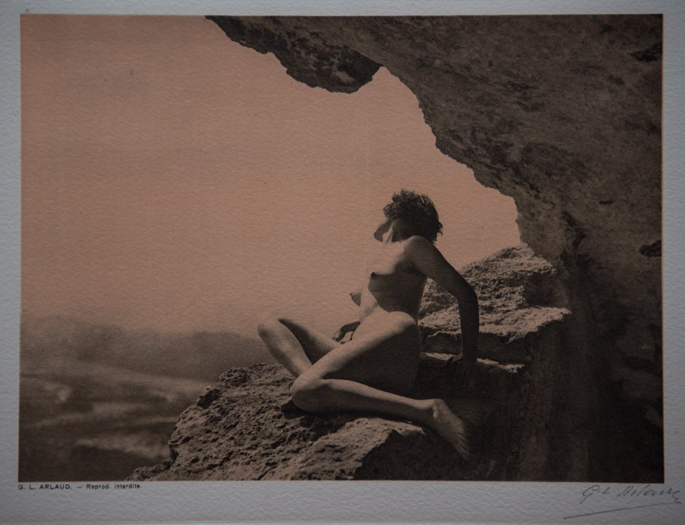 G.L. ARLAUD - La Grotte, signed