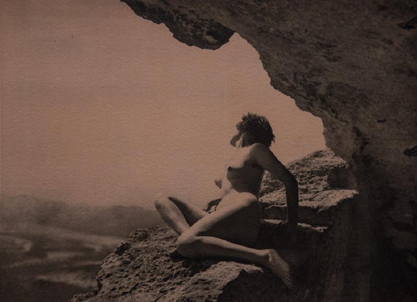 G.L. ARLAUD - La Grotte, signed - 2