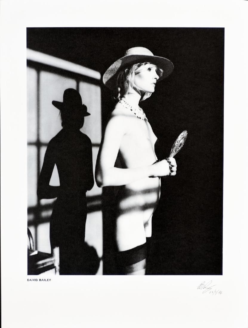 DAVID BAILEY - Model in studio 1974