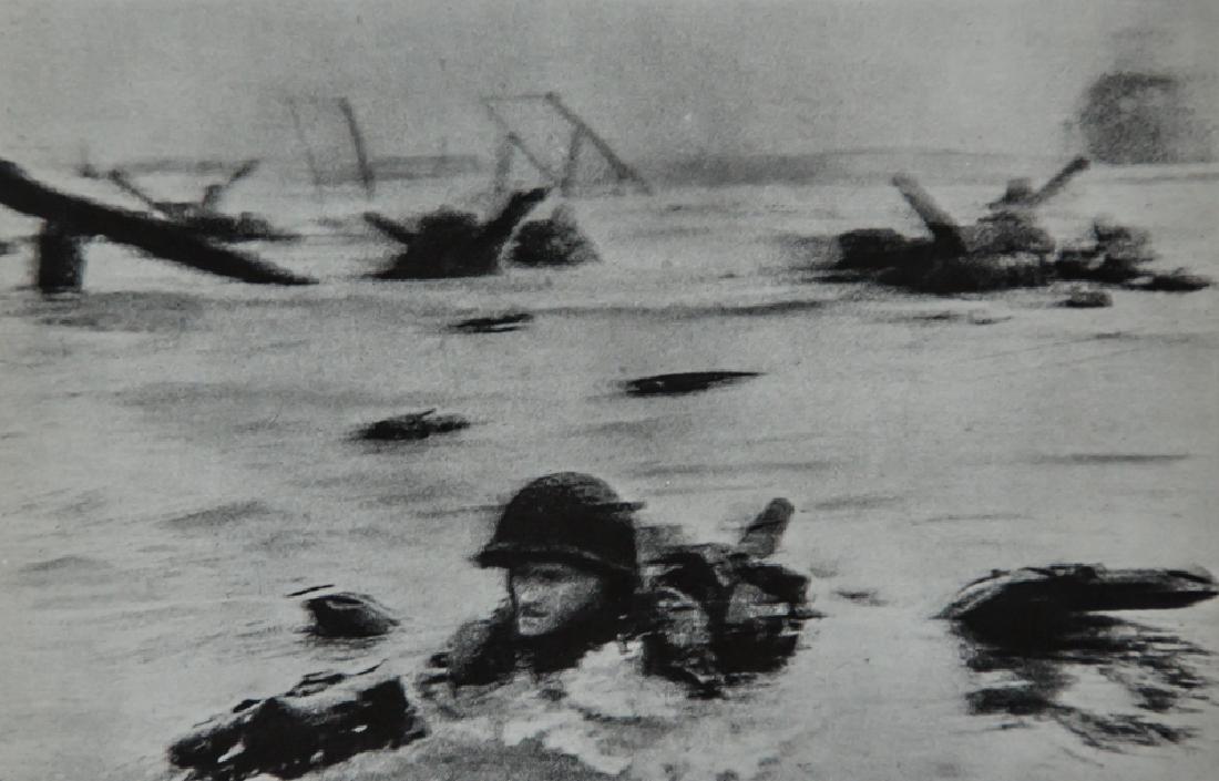 ROBERT CAPA - D-Day, Omaha Beach, France 1944