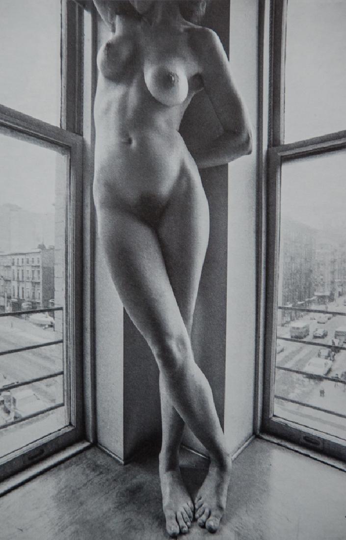 LUCIEN CLERGUE - Nude in Corner