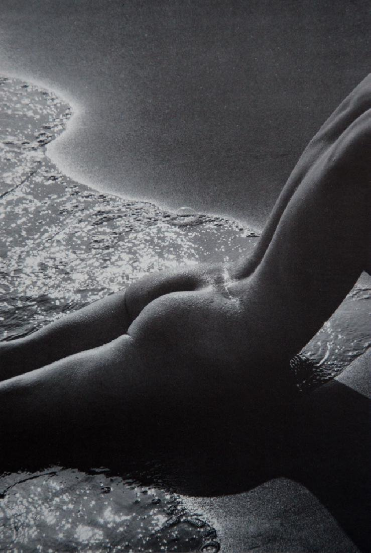 LUCIEN CLERGUE - Nude in the Surf