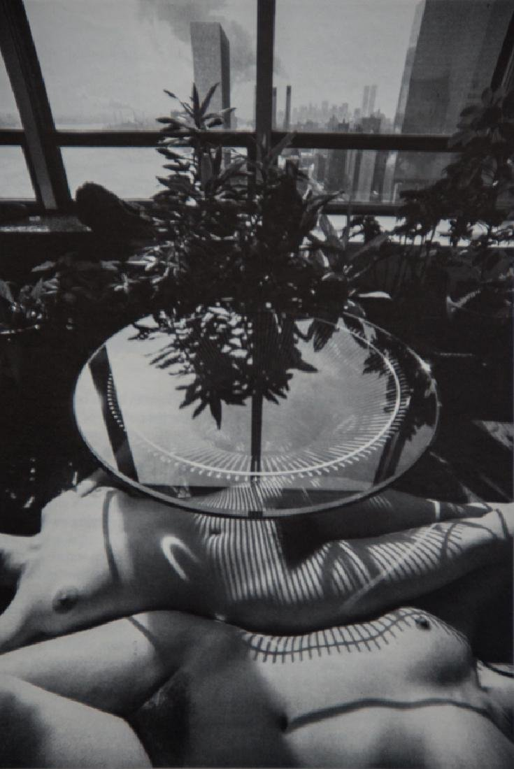 LUCIEN CLERGUE - Two Nudes, Interior