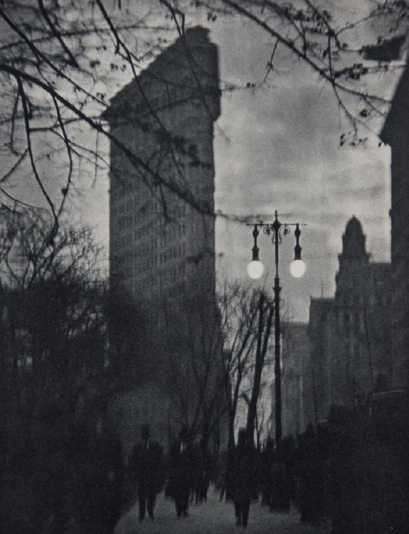 ALVIN LANGDON COBURN - Flat Iron Building New York 1912
