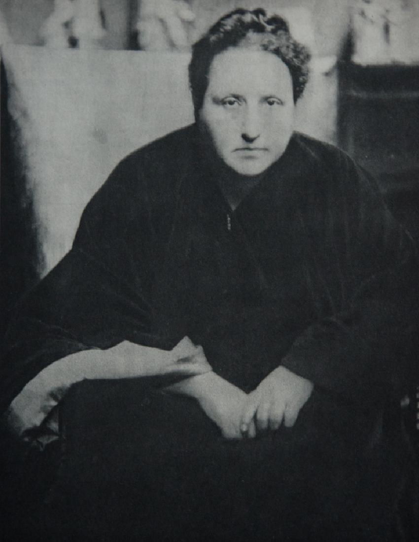 ALVIN LANGDON COBURN - Gertrude Stein, 1913