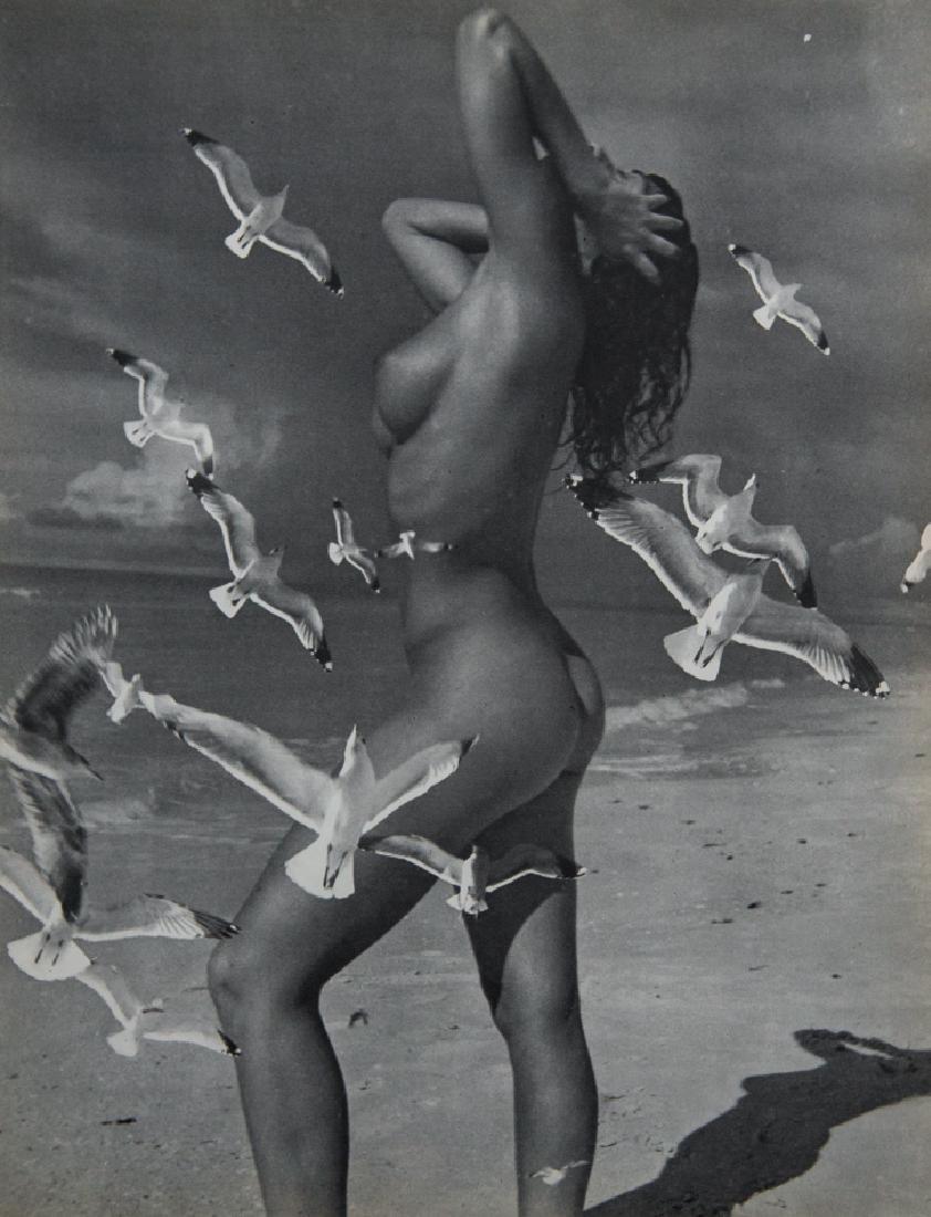 ANDRE DE DIENES - Nude Double Exposure