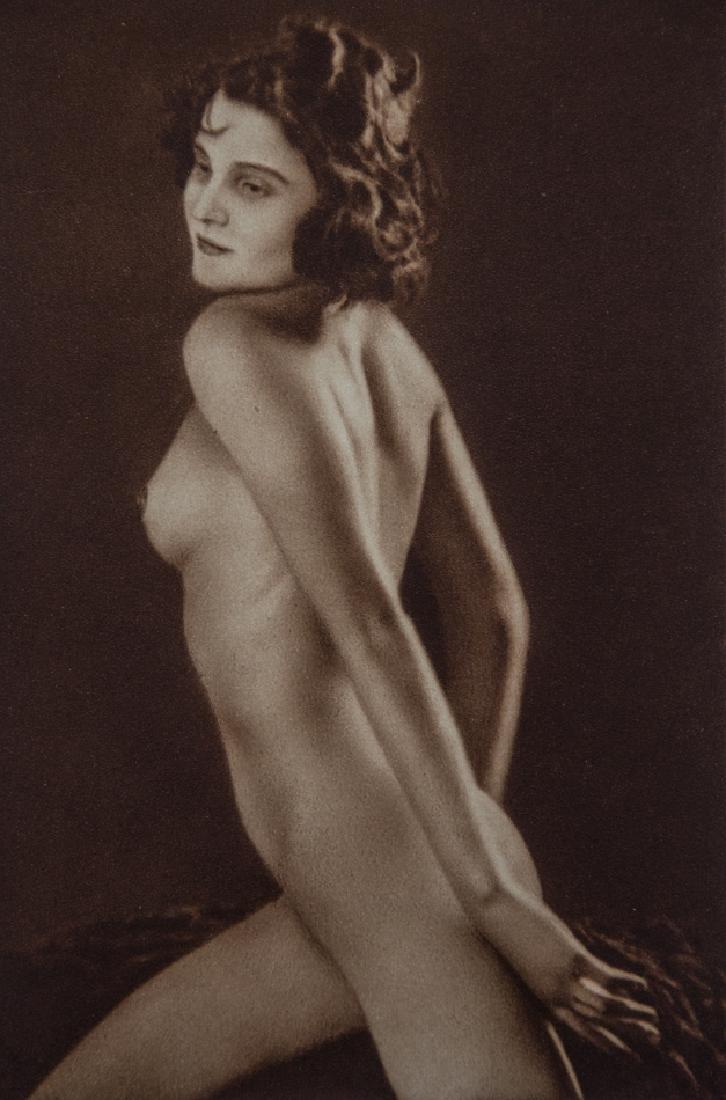 FRANTISEK DRTIKOL - Nude Czech Woman