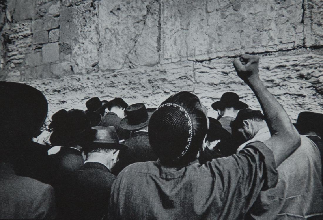 LEONARD FREED - Wailing Wall, Jerusalem 1967