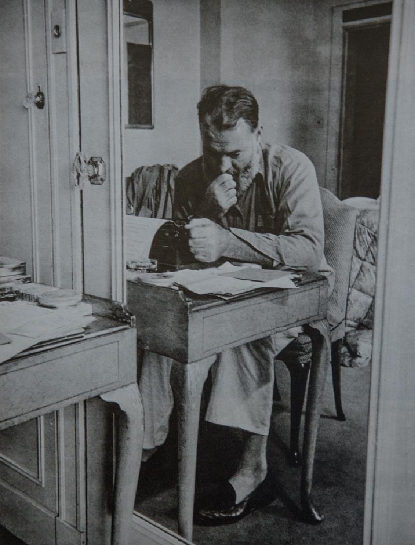 KURT HUTTON - Ernest Hemingway At Work, 1944