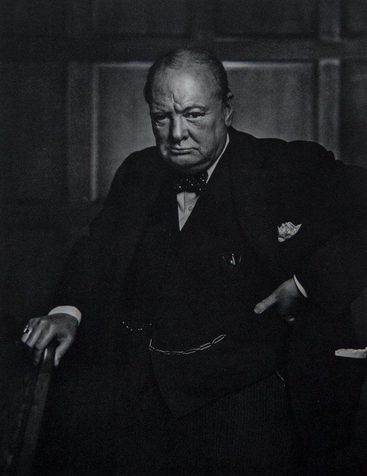 YOUSUF KARSH - Winston Churchill, 1941