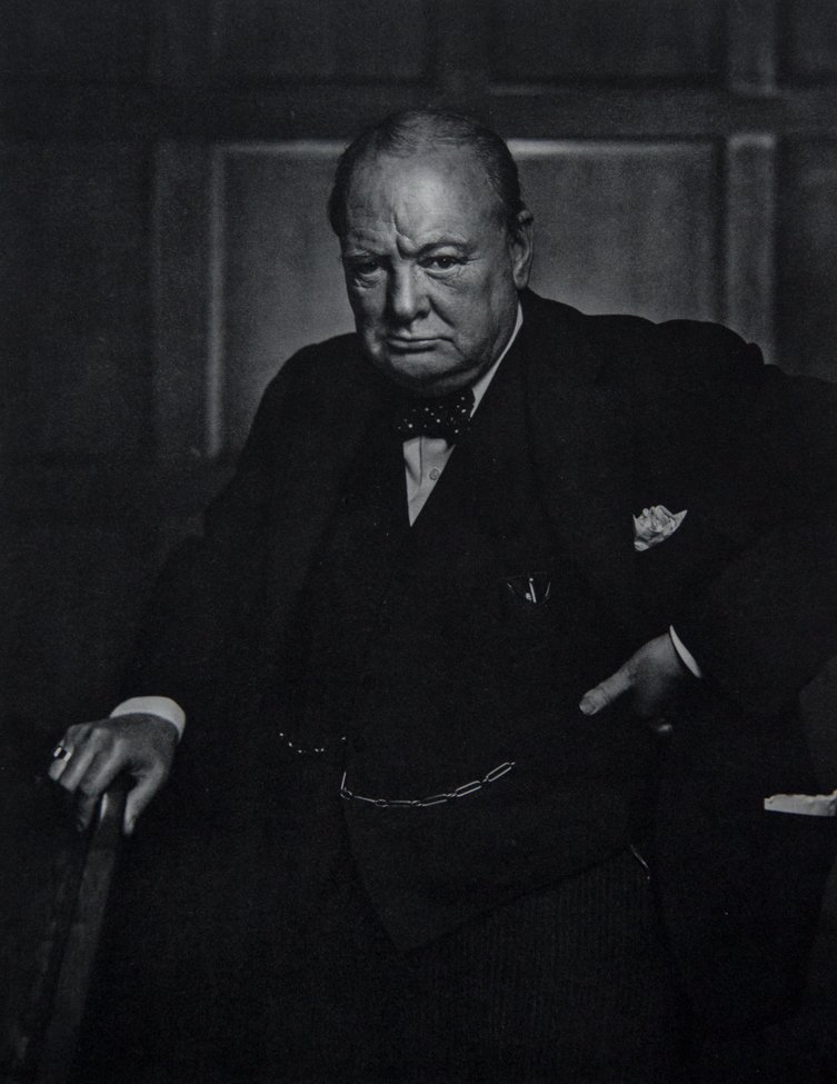 YOUSUF KARSH - Winston Churchill, 1941