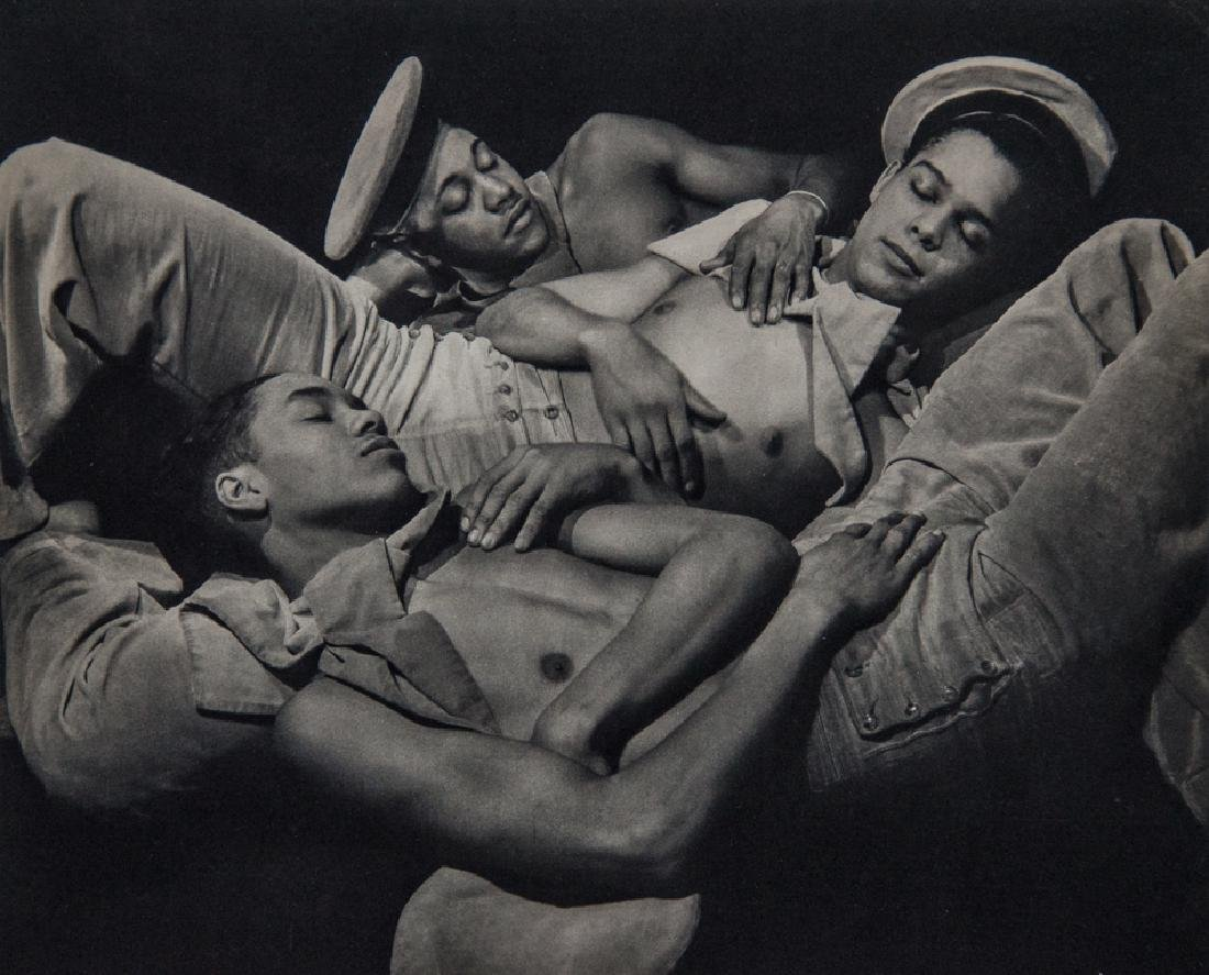 GEORGE PLATT-LYNES - Young Sailors Sleeping