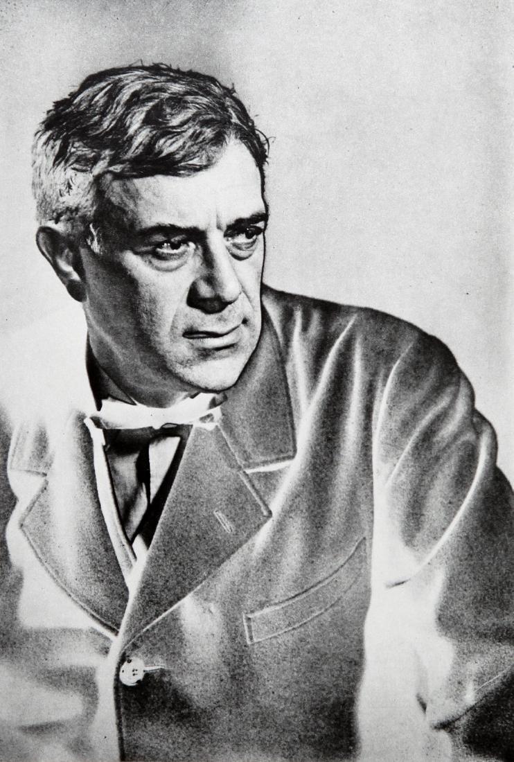 MAN RAY - George Braque Solarized Portrait 1930