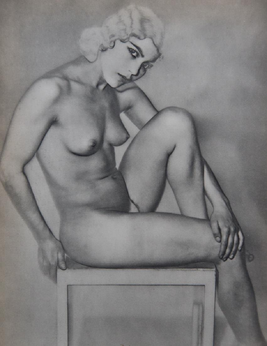 MAN RAY - Solarized Nude, Natacha, 1930