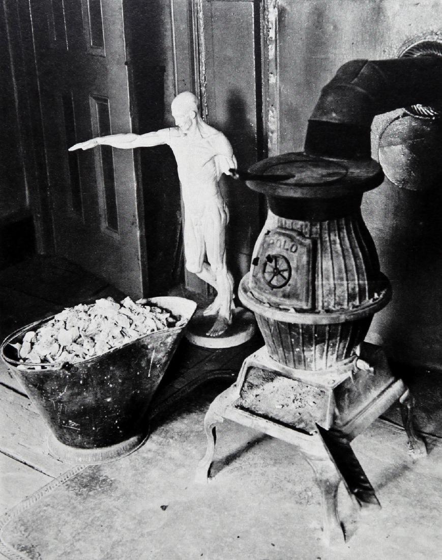 MAN RAY - Studio in 8th Street New York 1918