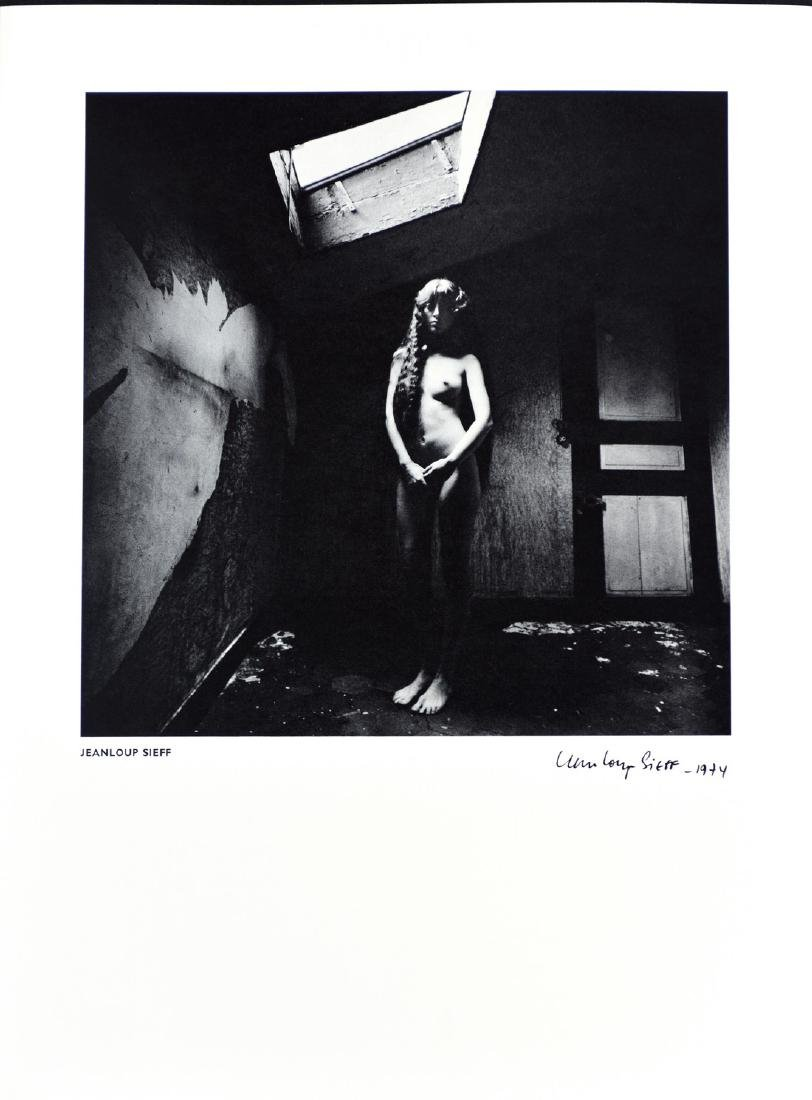 JEANLOUP SIEFF - Young model portrait March 1974
