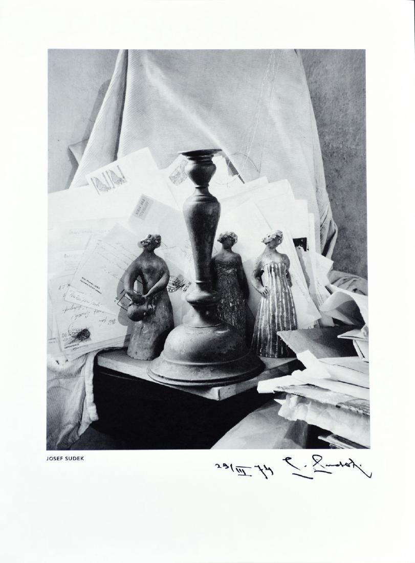 JOSEF SUDEK - Still life in studio 1974