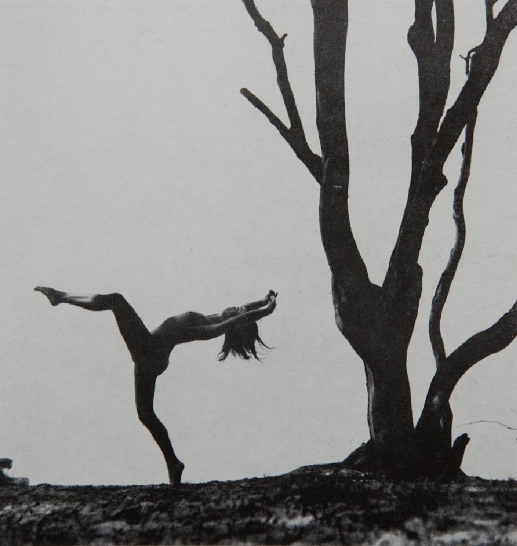 GERHARD VETTER - Nude Dancing in Silhouette