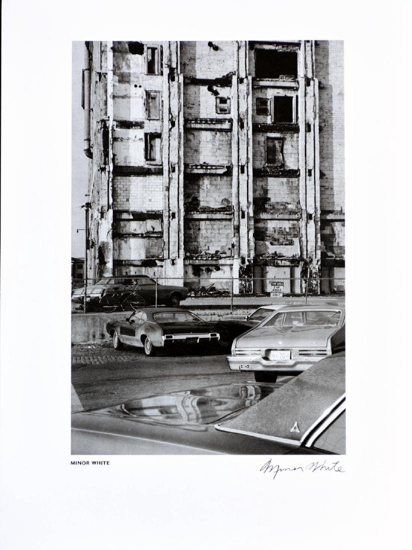 MINOR WHITE - Boston car park 1974