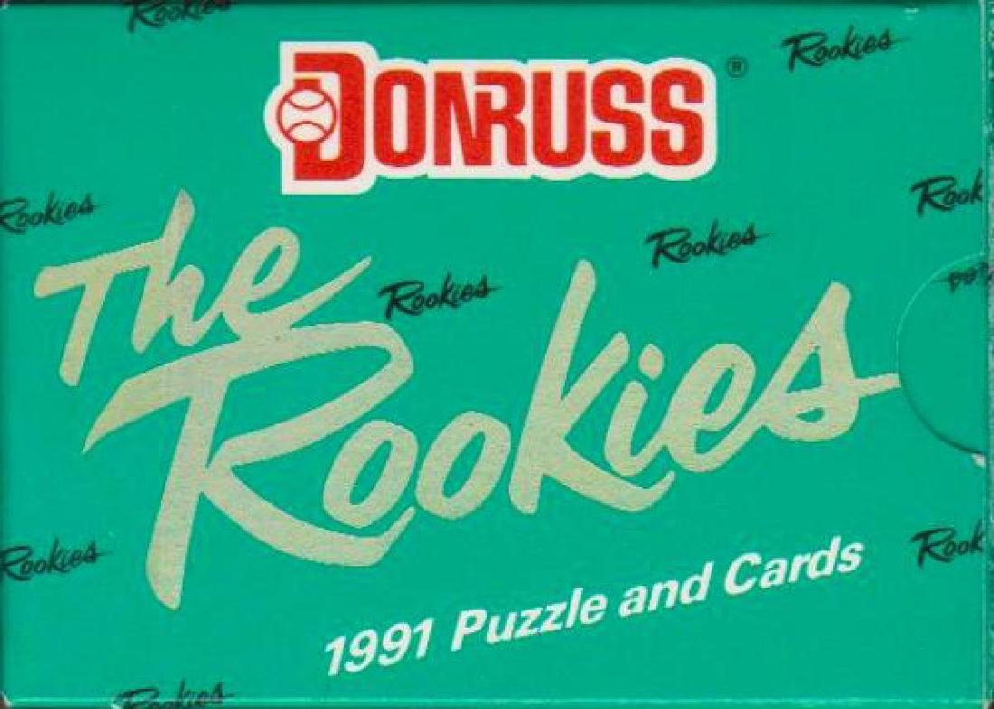 1991 Donruss The Rookies 56 Card Set Sealed