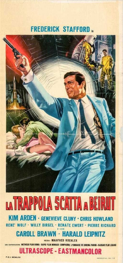 Agent 505: Death Trap in Beirut 1966 Italian locandina