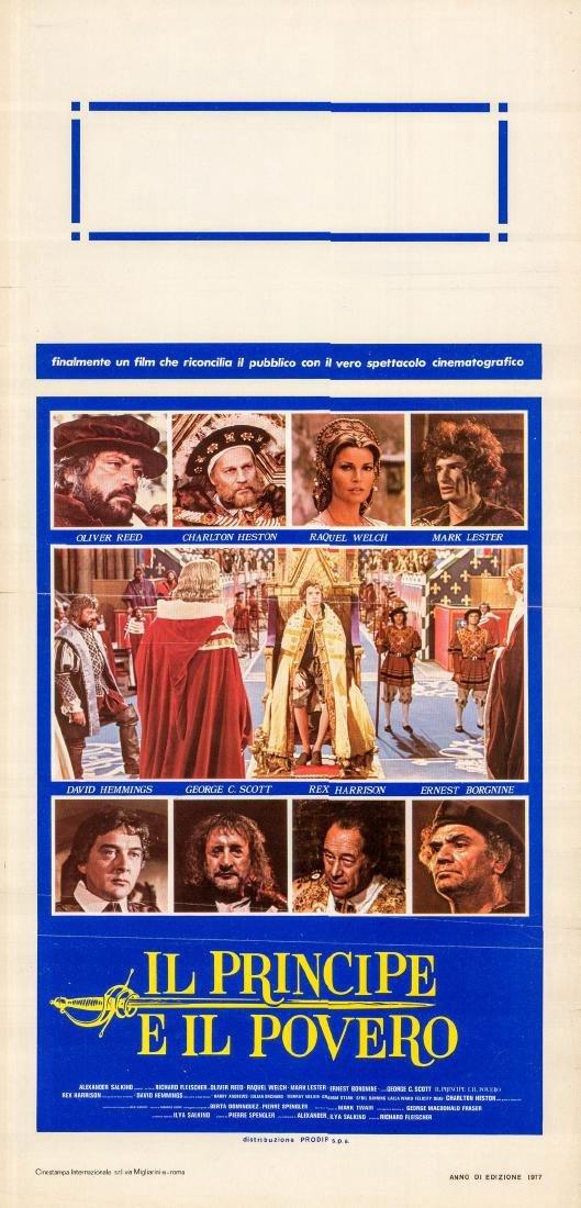 Crossed Swords 1977 Oliver Reed Italian locandina