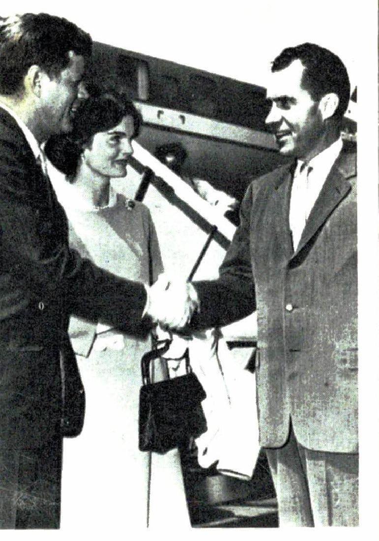 1964 Topps John F Kennedy Card