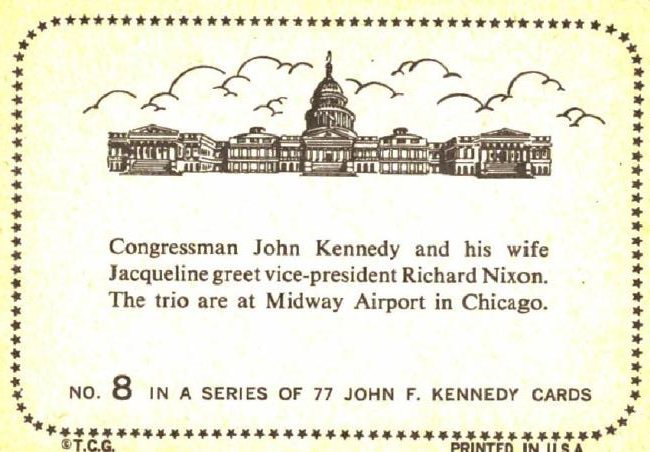 1964 Topps John F Kennedy Card - 2