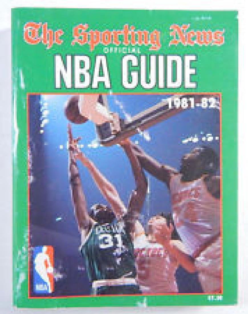 1981-82 The Sporting News NBA Guide