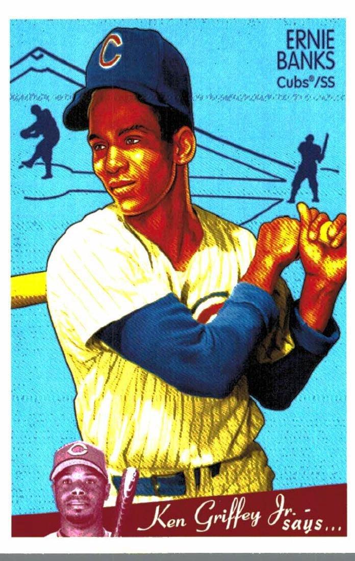 2008 Goudey Ernie Banks Short Print Card