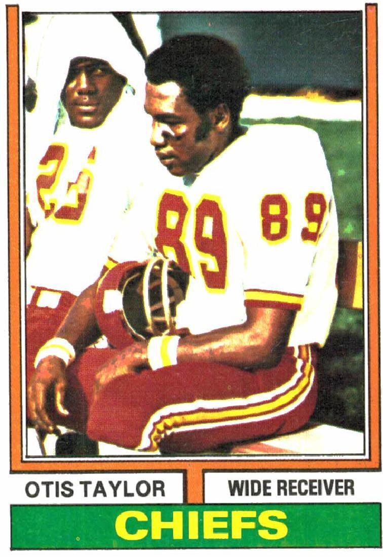 1974 Topps Otis Taylor Kansas City Chiefs