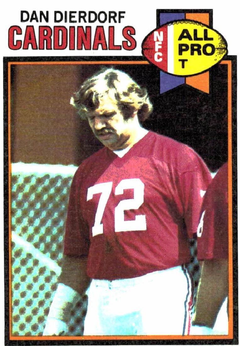 1979 Topps Dan Dierdorf St Louis Cardinals