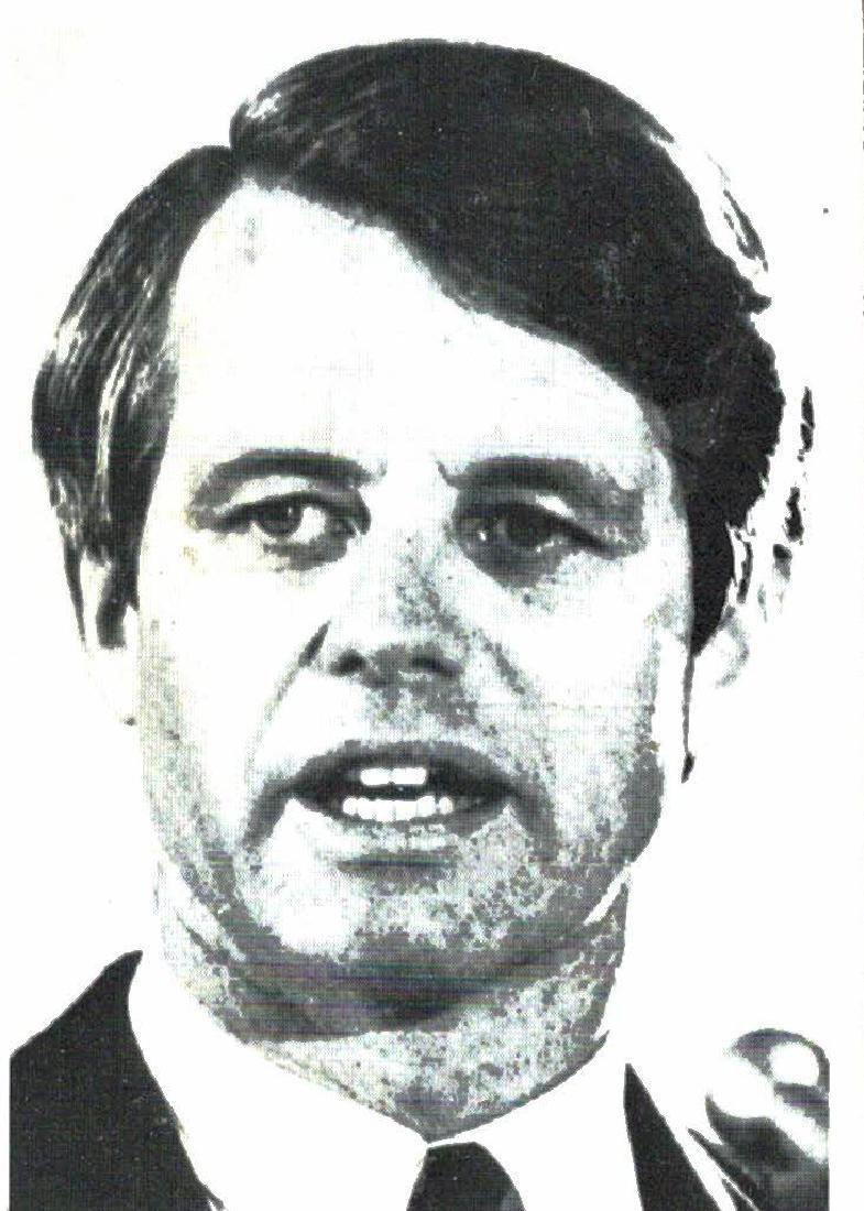1968 Philadelphia Gum Robert F Kennedy Card