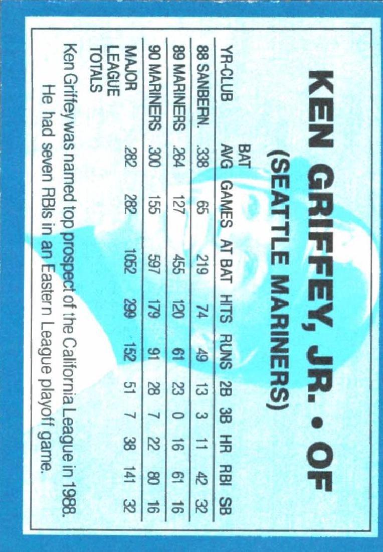 4 Gold Border Ken Griffey Jr Ken Griffey Sr Cards - 8