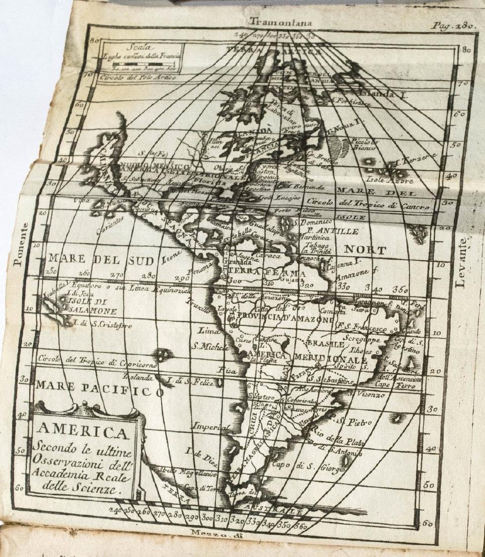Antique Buffier Map Atlas of the World, 1761 - 2