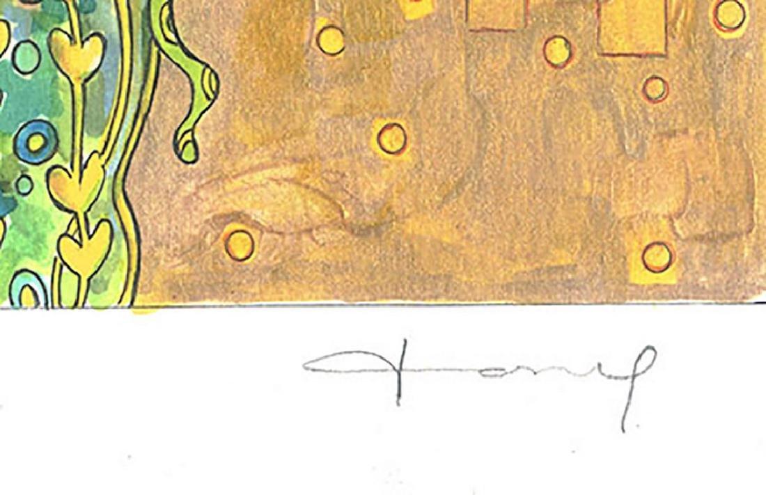 """Original Painting - Mickey & Minnie: Klimt's """"The Kiss"""" - 3"""
