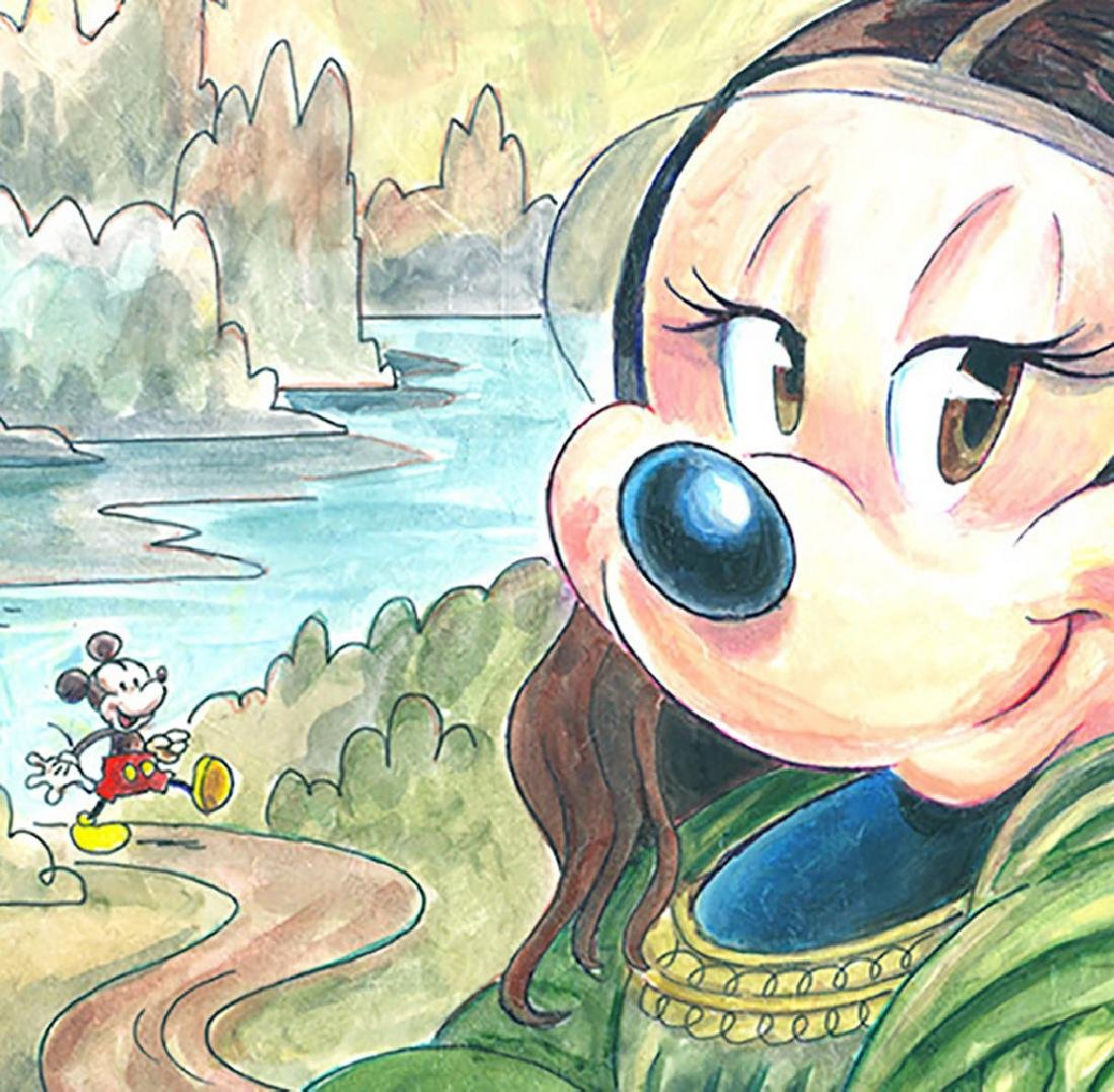 Original Painting - Minnie Mouse: da Vinci's Mona Lisa - 3