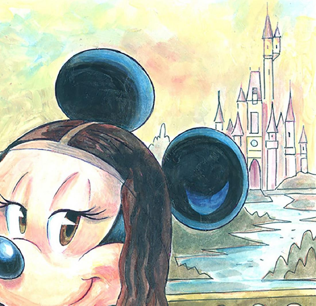 Original Painting - Minnie Mouse: da Vinci's Mona Lisa - 4