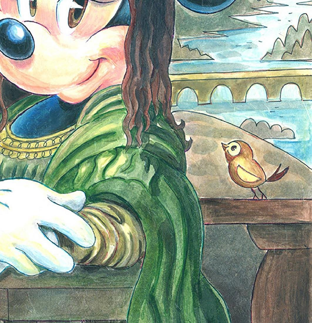 Original Painting - Minnie Mouse: da Vinci's Mona Lisa - 5