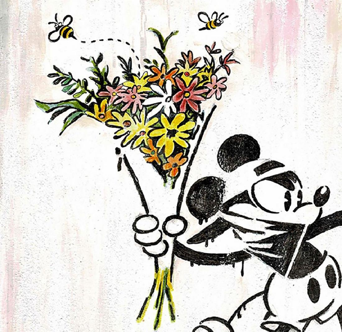 Original Painting - Mickey Mouse inspired Banksy - 4