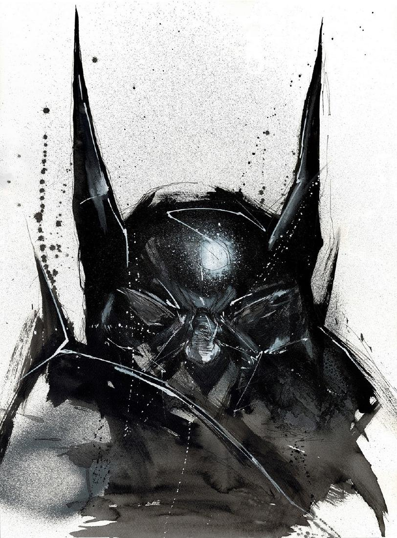 Batman - Original Acrylic Painting Antistatik