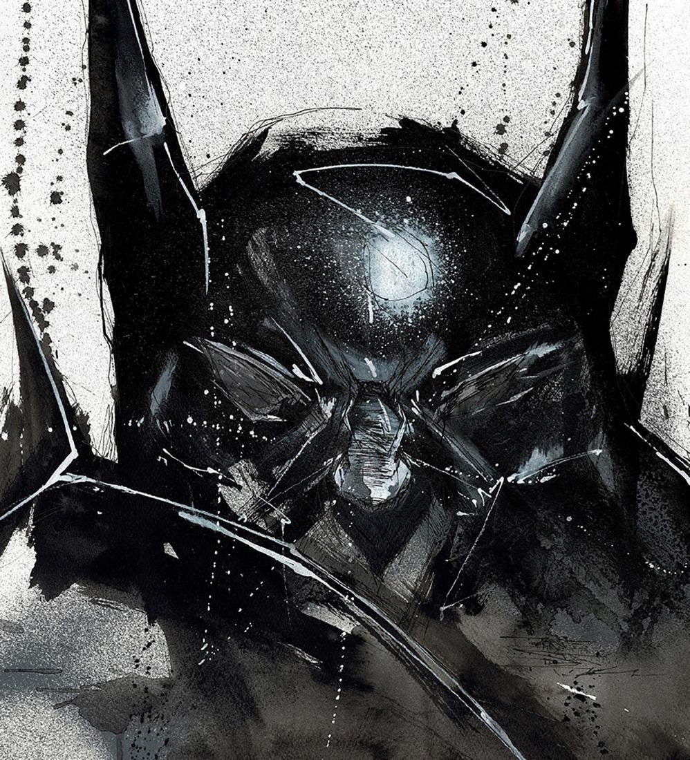 Batman - Original Acrylic Painting Antistatik - 3