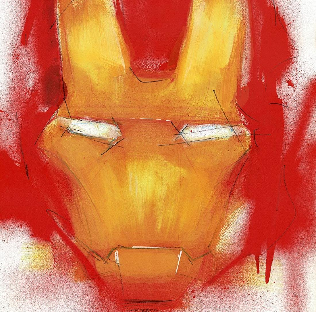 Iron Man - Original Acrylic Painting Antistatik - 2