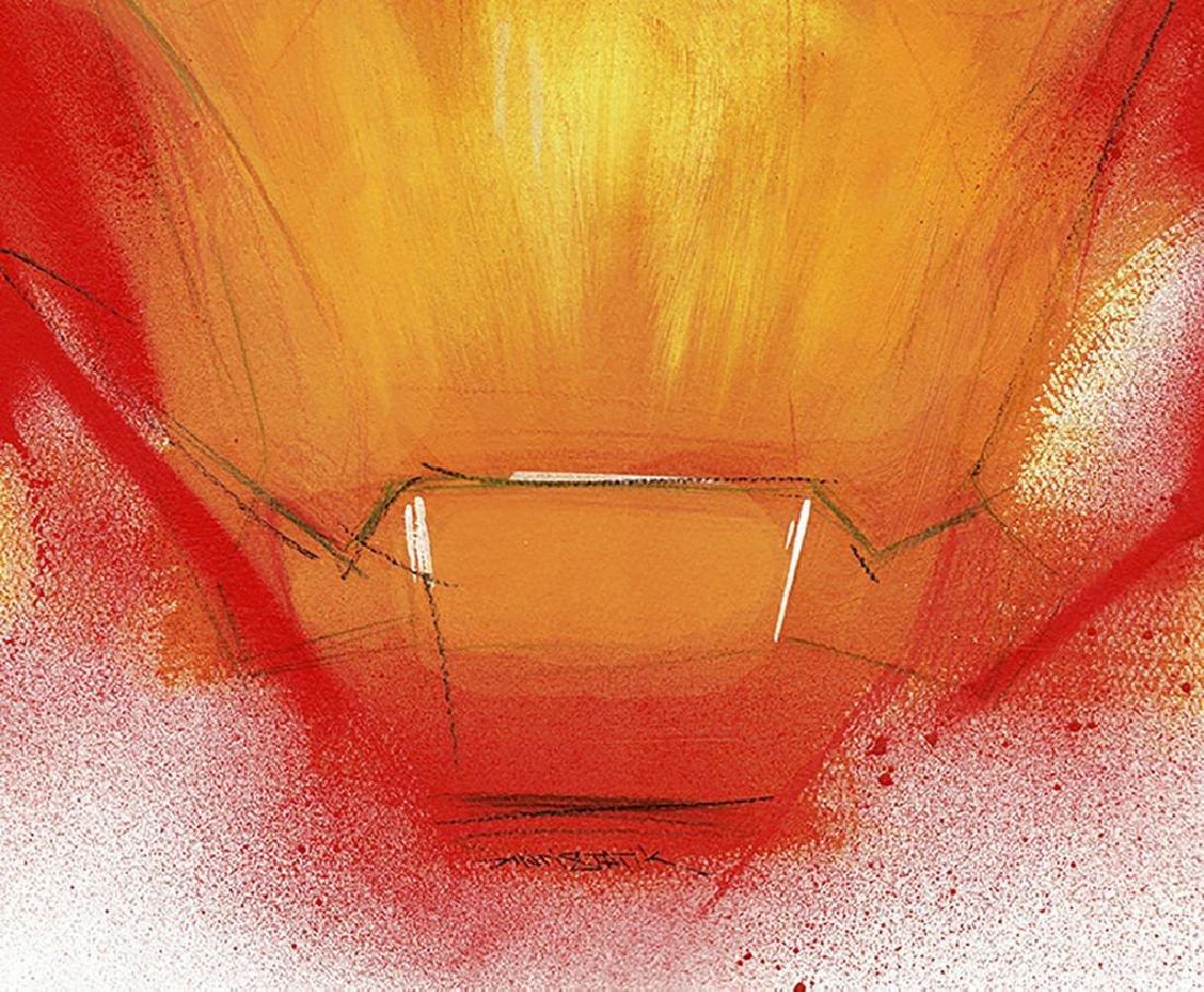 Iron Man - Original Acrylic Painting Antistatik - 3