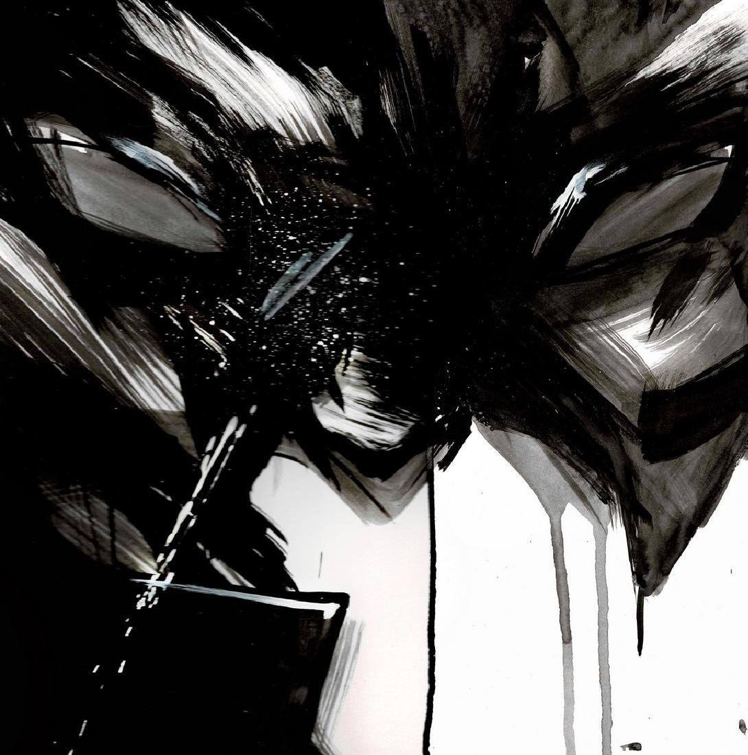 Batman II - Original Acrylic Painting Antistatik - 3
