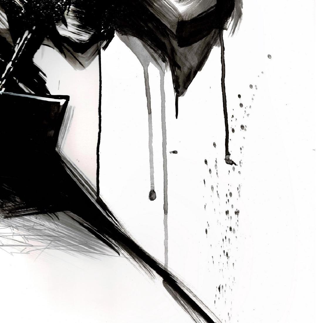 Batman II - Original Acrylic Painting Antistatik - 4
